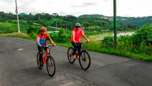 Travesía en bicicleta alrededor del Lago de Amatitlán | Agosto 2018