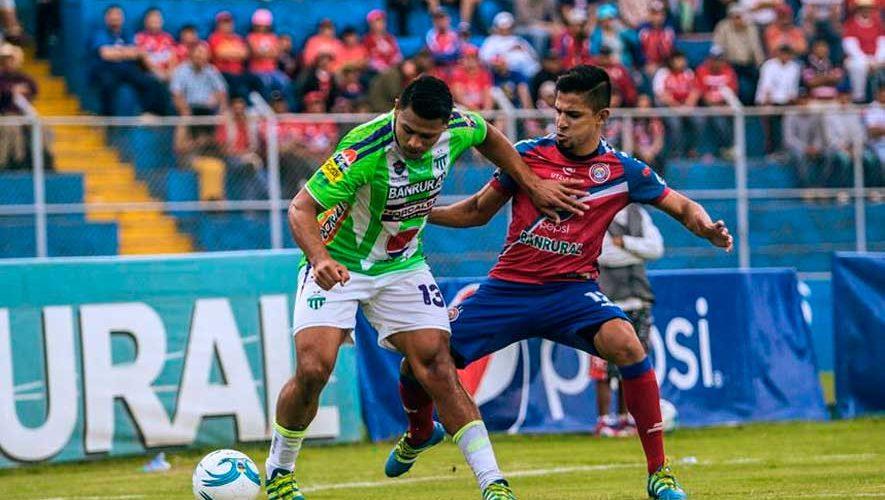 Partido de Xelajú y Antigua por el Torneo Apertura   Agosto 2018