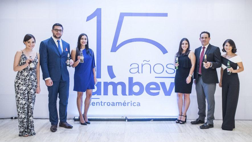 Ambev Centroamérica celebró su 15.° aniversario en Guatemala