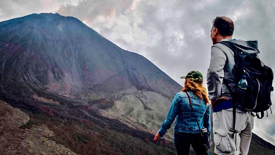 Ascenso al volcán Pacaya | Octubre 2018