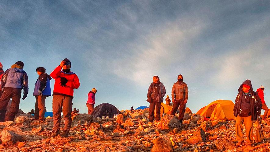 Ascenso y campamento al volcán Tajumulco | Septiembre 2018