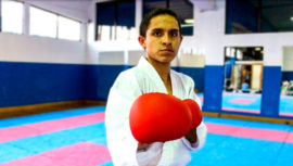 Buenos Aires 2018: Pedropablo De La Roca, el primer karateca guatemalteco en unos Juegos Olímpicos