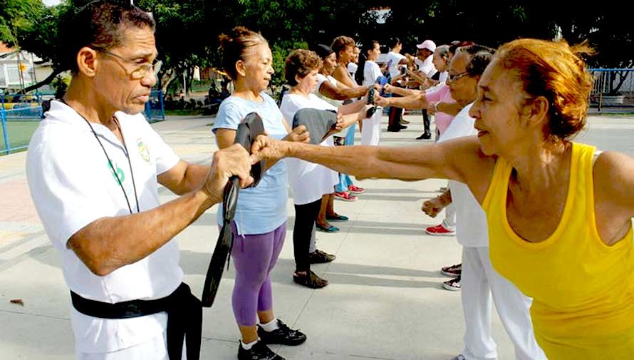 Clases gratuitas de deporte y defensa personal para mujeres