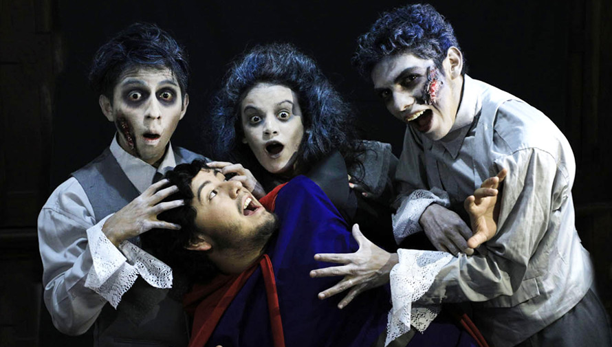 En el Bosque del Miedo, obra de teatro para niños