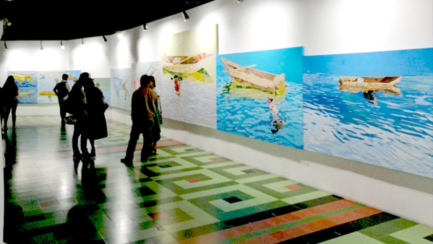 Exposición de pintura de Manuel Chavajay en Guatemala   Septiembre 2018