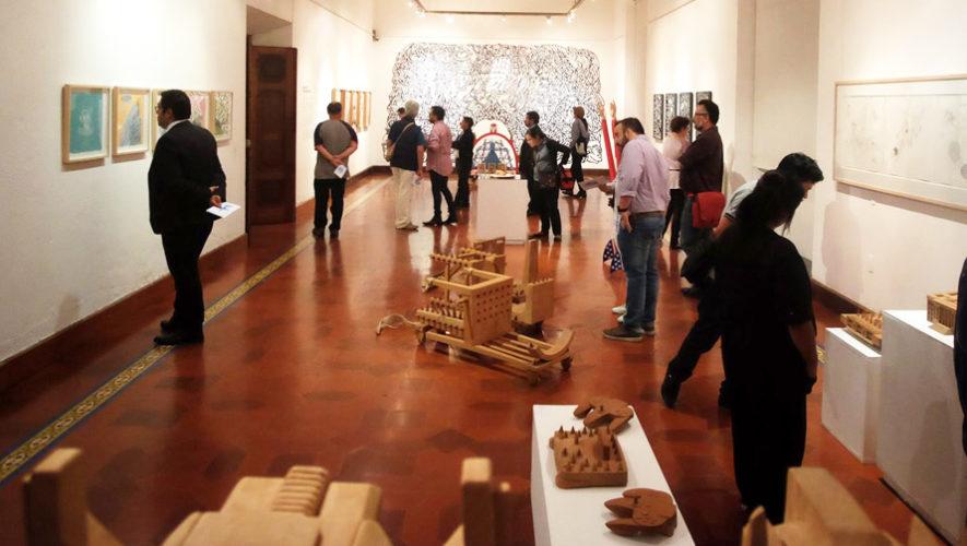 Exposición gratuita de esculturas en Guatemala | Septiembre 2018