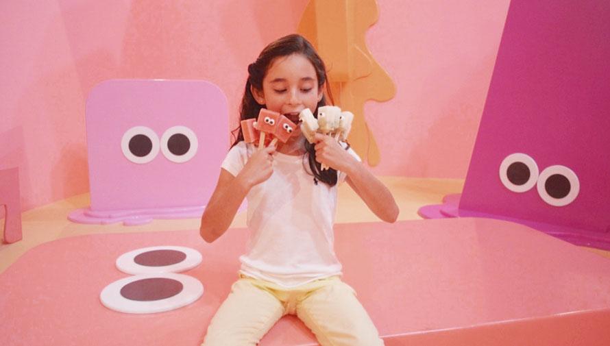 Eyespopland: Un lugar para disfrutar de helados ilimitados