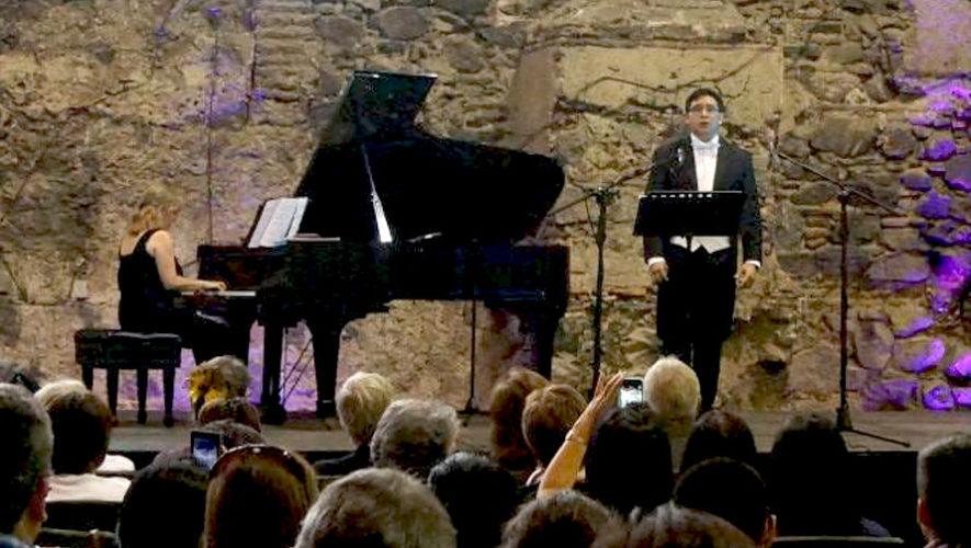 Concierto operático en Antigua Guatemala | Septiembre 2018