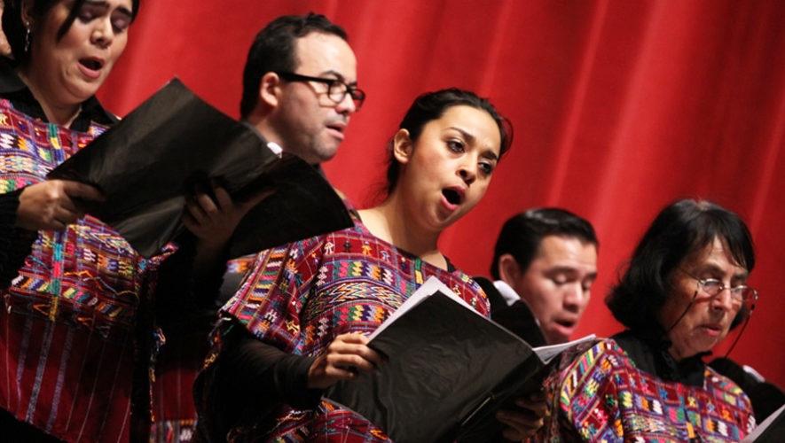 Guatecoral 2018, festival gratuito de música coral | Septiembre 2018