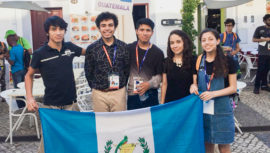 Estudiantes participan en Olimpiada Iberoamericana de Matemática en España