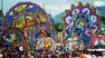 Primer festival de barriletes gigantes en el Lago de Atitlán | Noviembre 2018