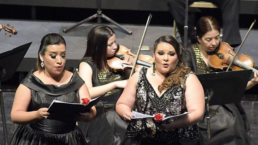 Concierto de canciones rancheras interpretadas en ópera | Septiembre 2018