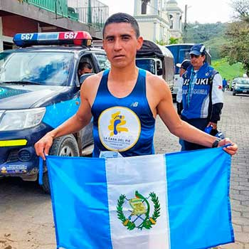 Récord Centroamericano de Maratón
