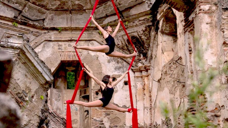 Show de danza aérea en Guatemala | Octubre 2018