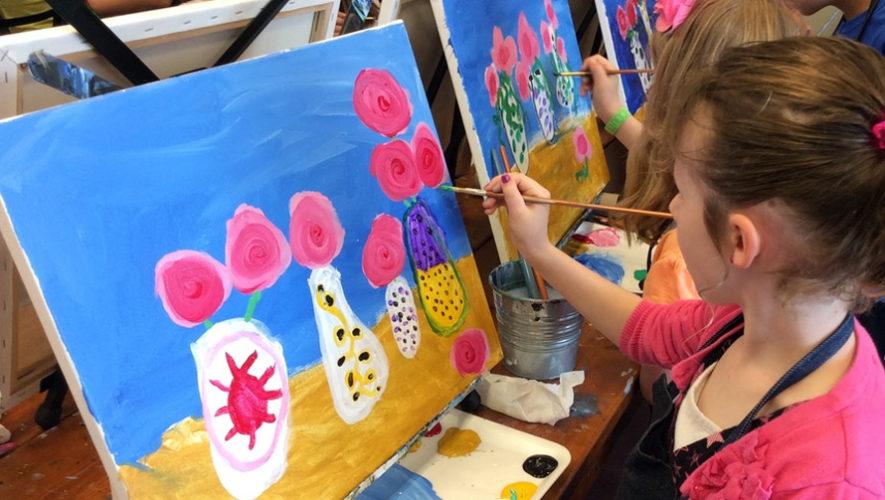Taller de pintura gratuito para niños | Septiembre 2018