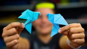 Taller gratuito de origami para niños   Septiembre 2018