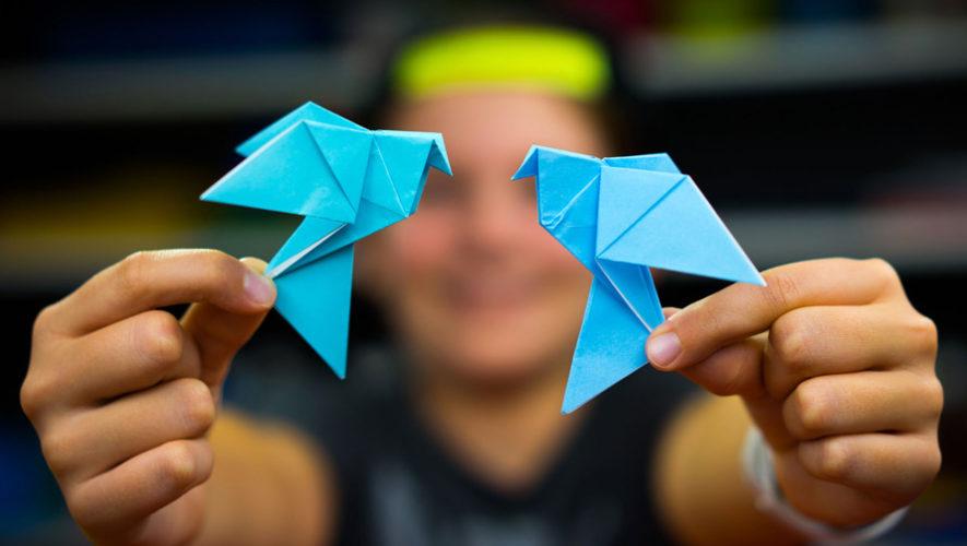 Taller gratuito de origami para niños | Septiembre 2018