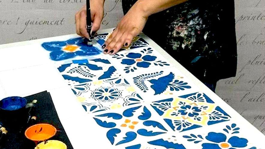 Taller para decorar azulejos en Ciudad de Guatemala | Octubre 2018