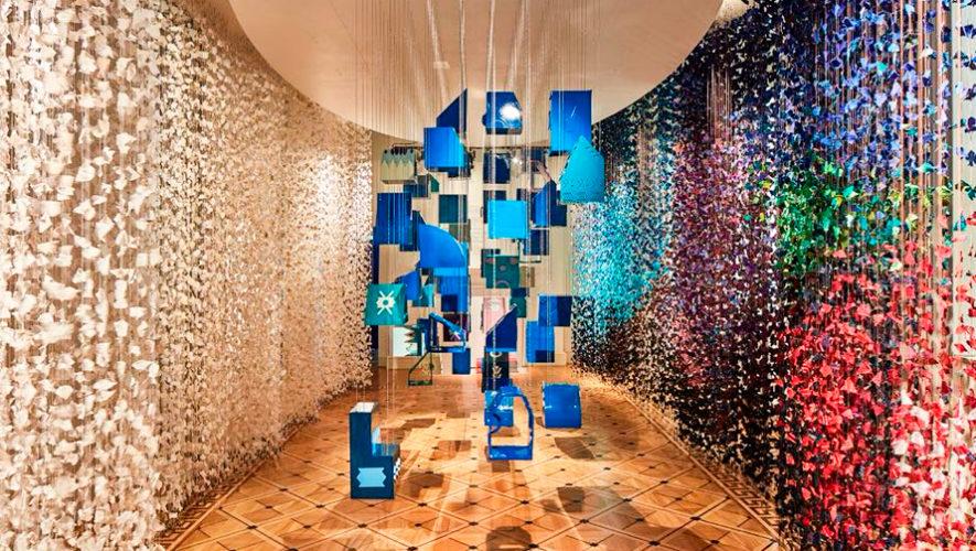 Tejidos de Santa Catarina Palopó son expuestos en London Design Biennale 2018