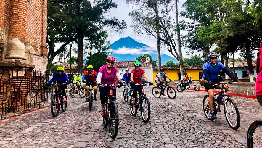 Colazo en bicicleta por La Antigua Guatemala | Septiembre 2018