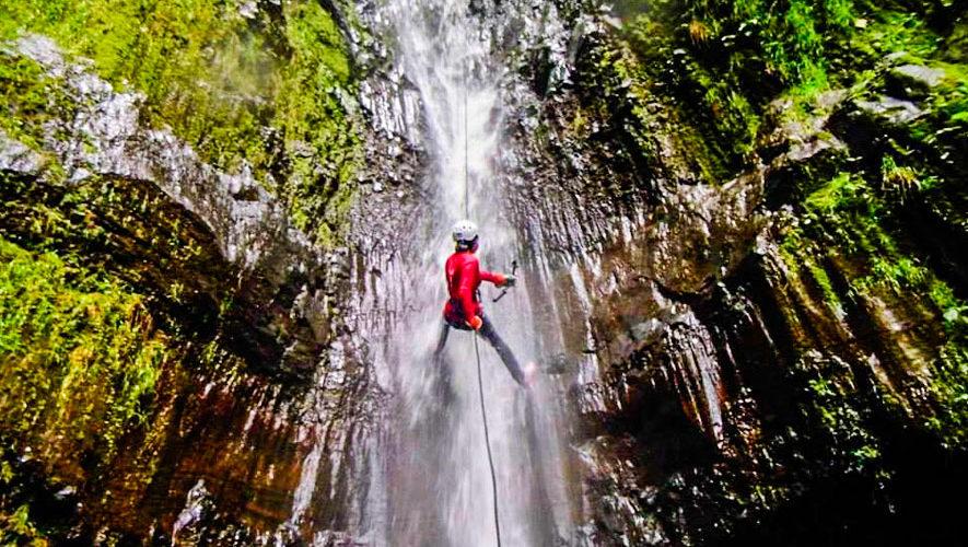 Viaje para hacer Rappel en Catarata de La Rinconada   Septiembre 2018