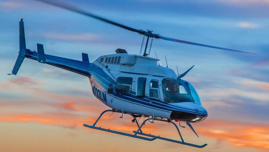 Vuelo en helicóptero sobre Antigua Guatemala y visita a Hobbitenango | Octubre 2018