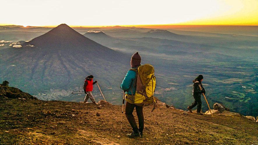 Ascenso nocturno al volcán Acatenango, Chimaltenango | Septiembre 2018