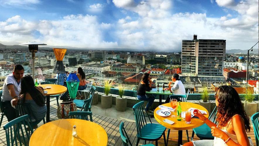Restaurantes con terraza en la Ciudad de Guatemala