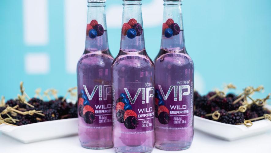 Botran VIP tiene dos nuevas bebidas Ginger Guaraná y Wild Berries