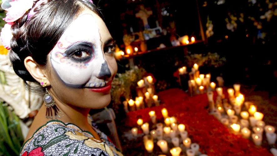 Celebración mexicana del Día de Muertos en Guatemala | Noviembre 2018