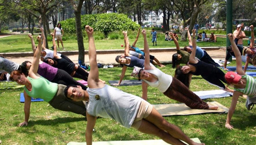 Clase de yoga gratuita en Pasos y Pedales | Octubre 2018