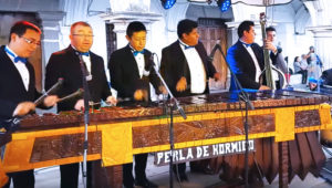 Concierto gratuito de marimba en Antigua Guatemala | Noviembre 2018