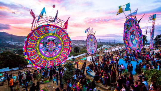 Detalles del EcoFestival de Barriletes Gigantes de Santiago Sacatepéquez, 2018