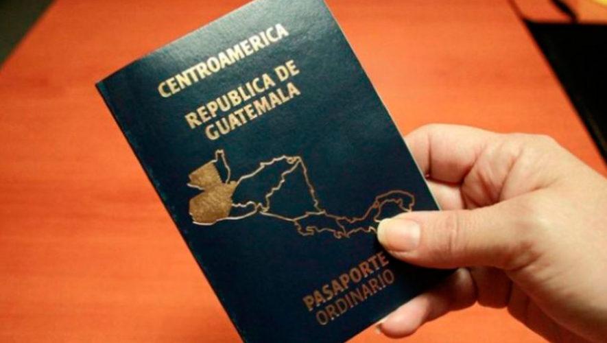 El pasaporte guatemalteco tiene un nuevo diseño en el 2018