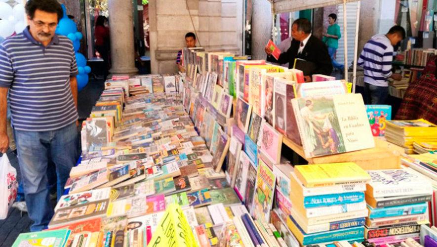 Feria Municipal del Libro 2018 en la Ciudad de Guatemala