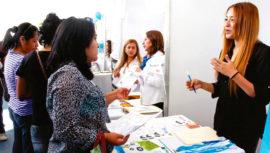 Feria de Empleo en la Universidad Rafael Landívar, Antigua Guatemala 2018