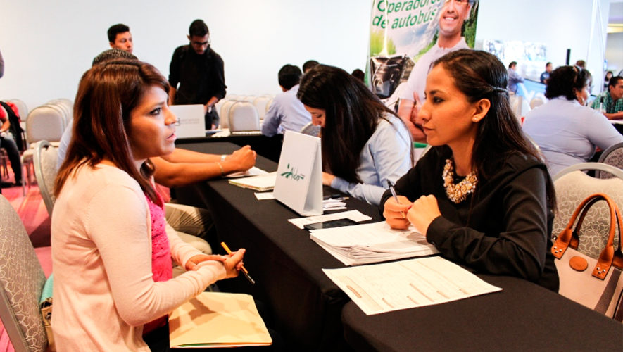 Feria de Empleo para Vacacionistas en la Ciudad de Guatemala, 2018