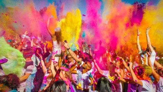 Holi One Colour Festival, una imperdible fiesta de música y color | Noviembre 2018