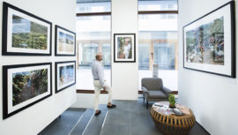 Fotografías de Mathieu Hutin de café guatemalteco son expuestas en Dubai
