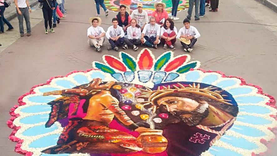 Guatemala participó en el Encuentro Interncional de Alfombristas, México 2018