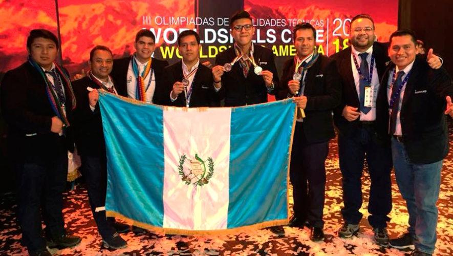 Guatemaltecos ganaron medallas de bronce