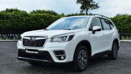 La Subaru Forester con tecnología de frenado automático, ya está en Guatemala