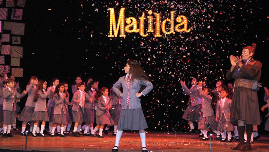 Musical de Matilda en Guatemala   Diciembre 2018