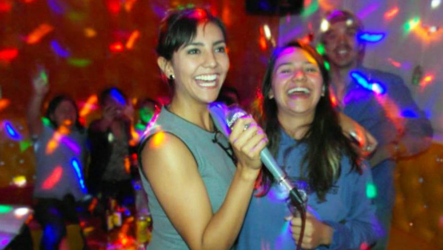 Noche de karaoke a beneficio de Fundación Margarita Tejada   Octubre 2018