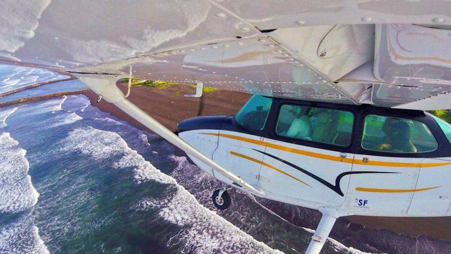 Piloto de avión por un día, volando sobre el Puerto de San José | Noviembre 2018