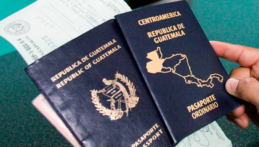 Precio del pasaporte ordinario guatemalteco, octubre 2018