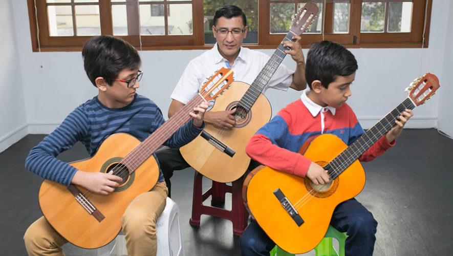 Primer Festival Internacional Suzuki de Guitarra en Guatemala | Octubre 2018