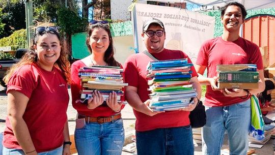 Recaudación de útiles escolares para los niños de escasos recursos de Baja Verapaz, 2018