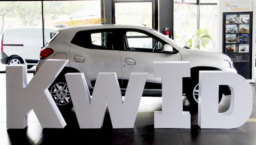 Renault Kwid 2019 ideal para quienes buscan un primer carro en Guatemala