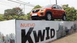 Renault Kwid 2019, un automóvil compacto y funcional en Guatemala